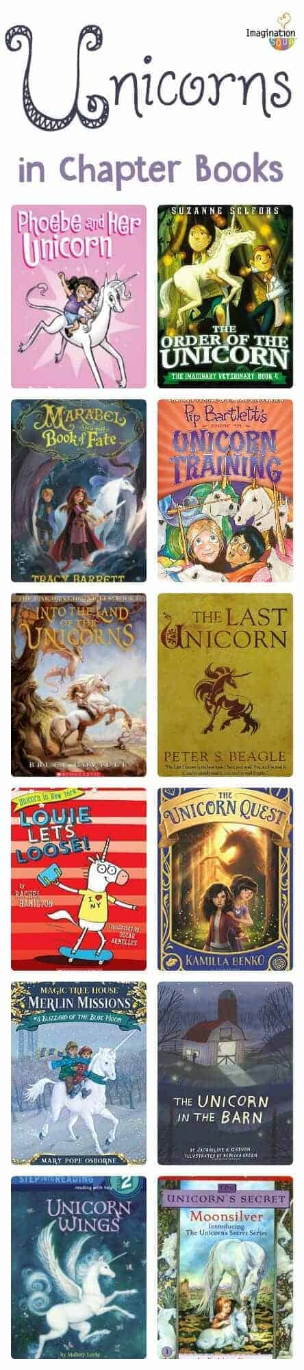 chapter books about unicorns