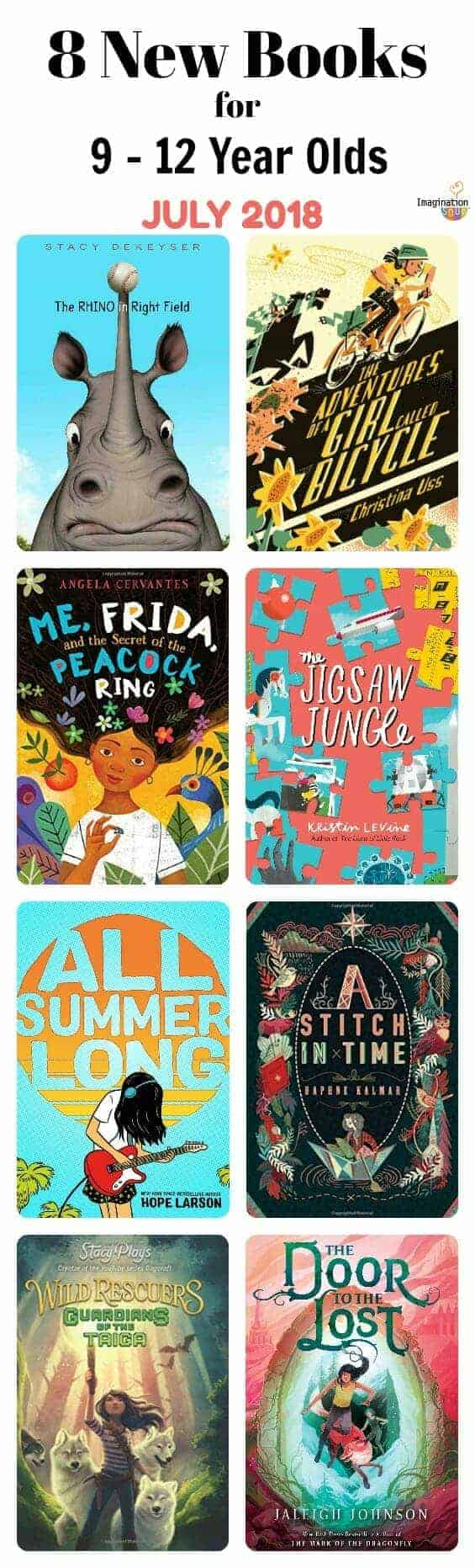 8 New Middle Grade Books, July 2018