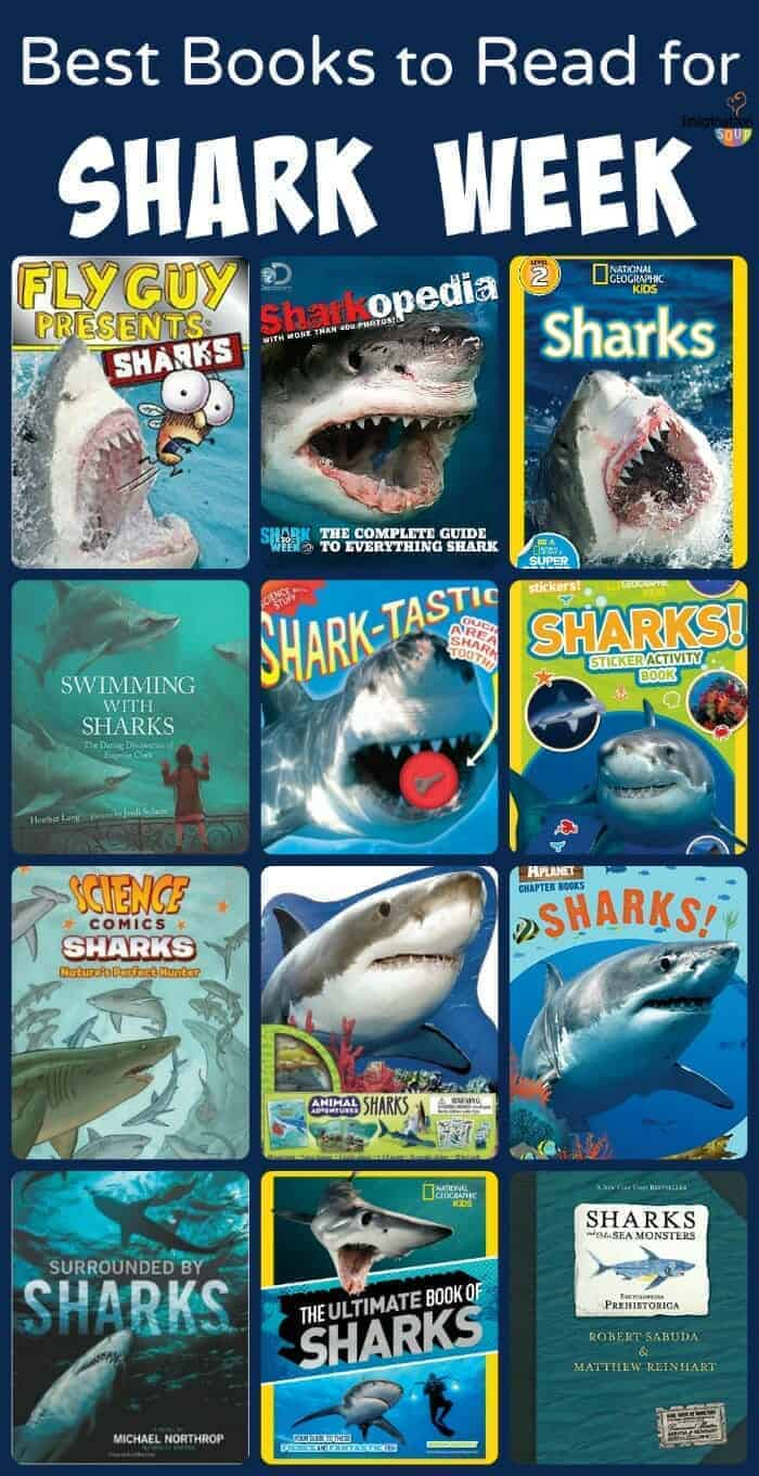Best Books for Kids to Read for Shark Week (or Anytime)