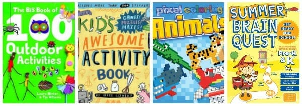 Keep Kids Engaged with the Latest, Greatest Activity Books summer 2018