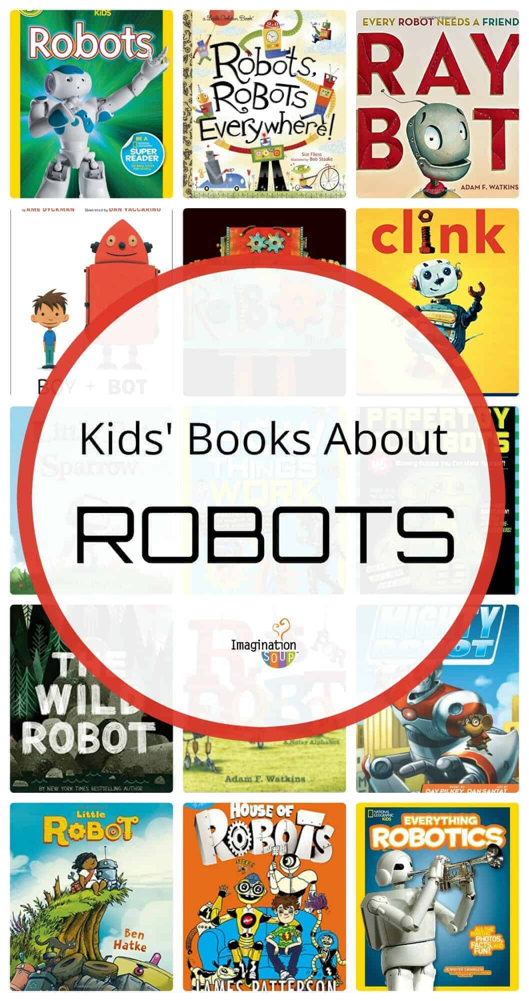 Rocking Robot Books for Kids (picture books, chapter books, nonfiction)