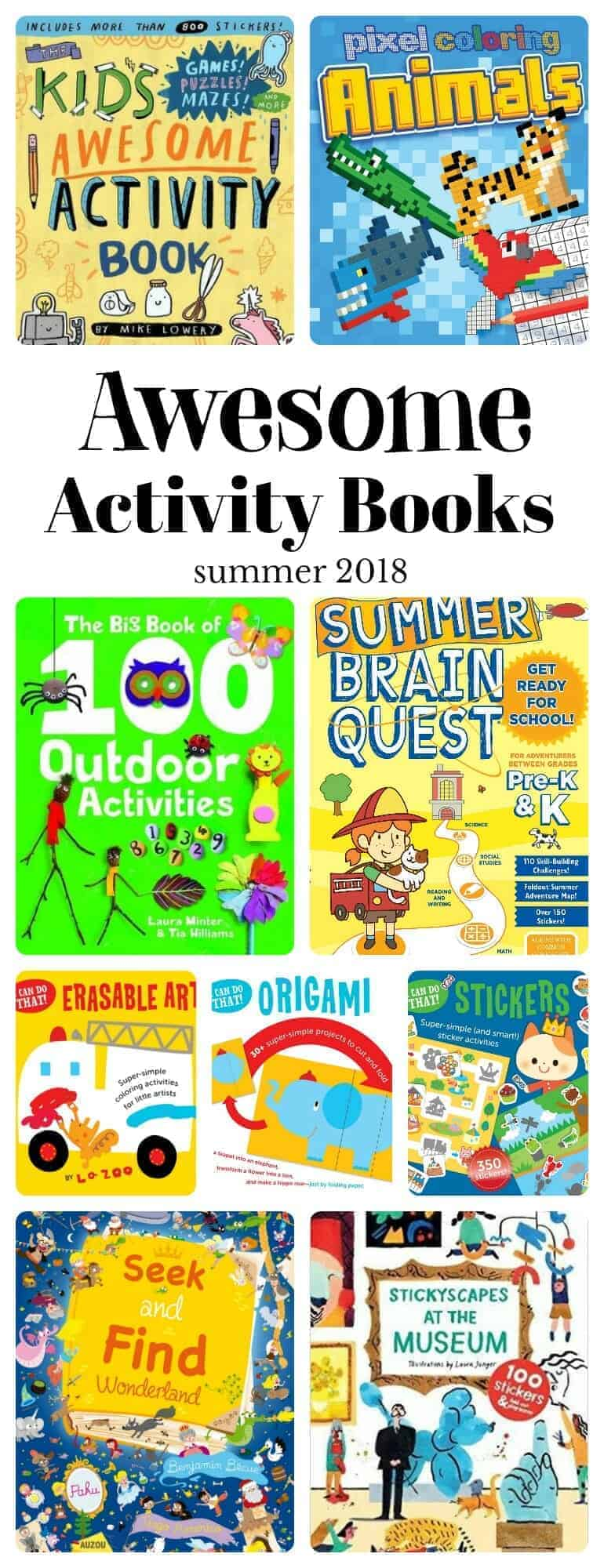 awesome summer activity books summer 2018