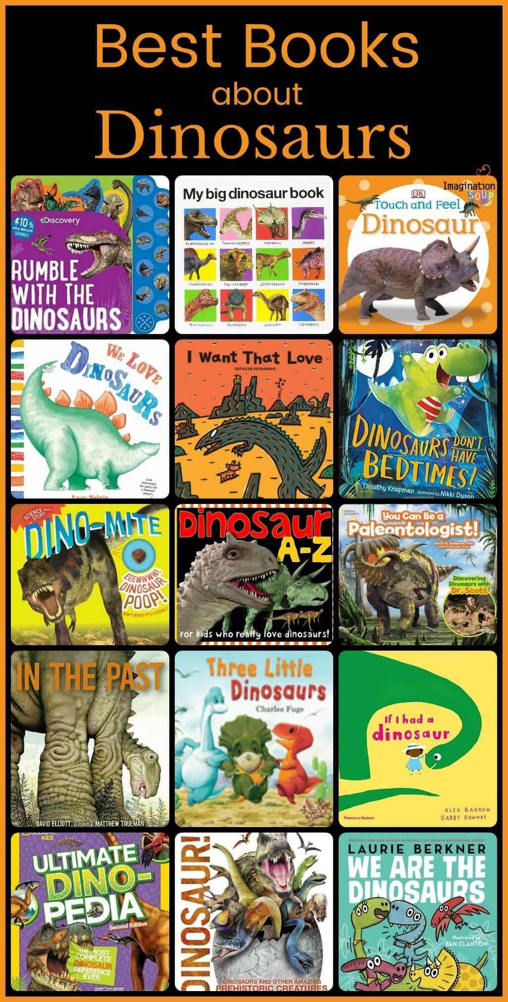 best books about dinosaurs for kids