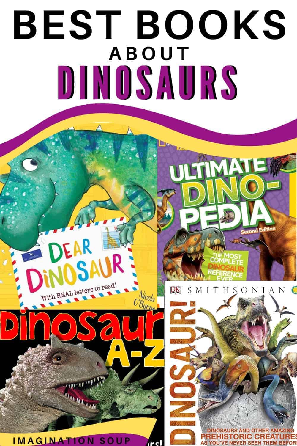 best books for kids about dinosaurs