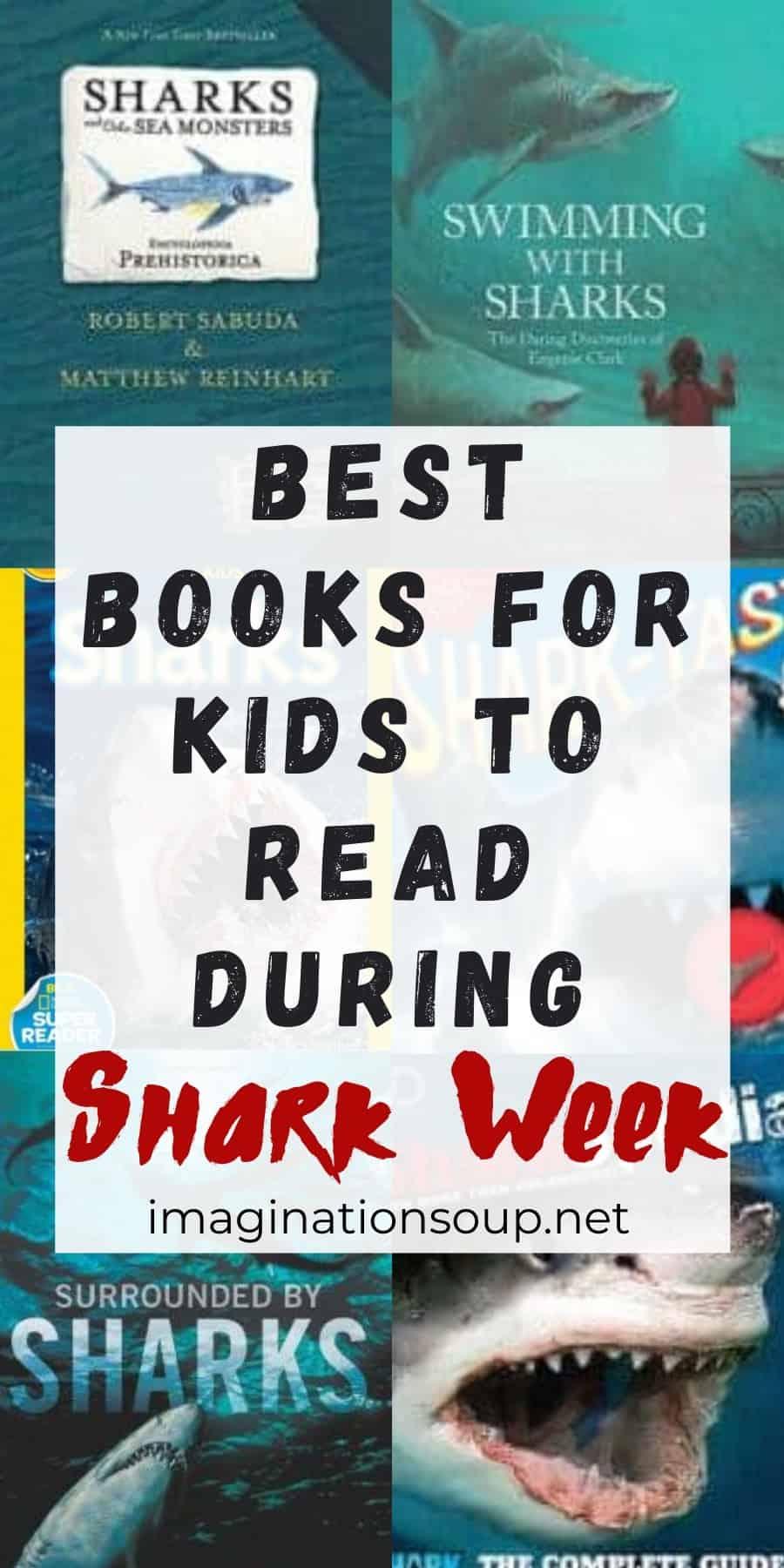 best shark books for kids