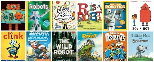 Rocking Robot Books for Kids (picture books, chapter books, nonfiction_