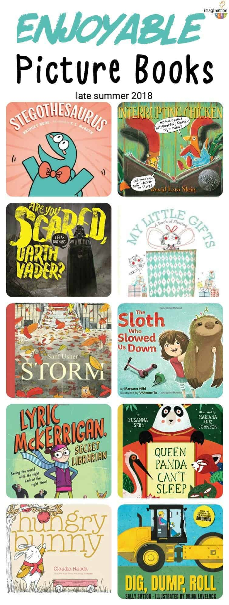 10 enjoyable picture books (late summer 2018)