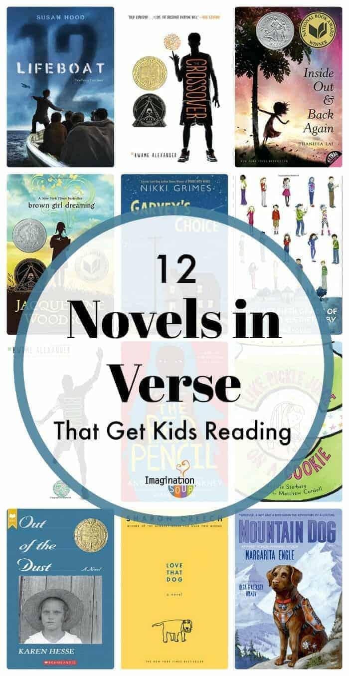 12 Novels in Verse (That Get Tween Kids Reading)