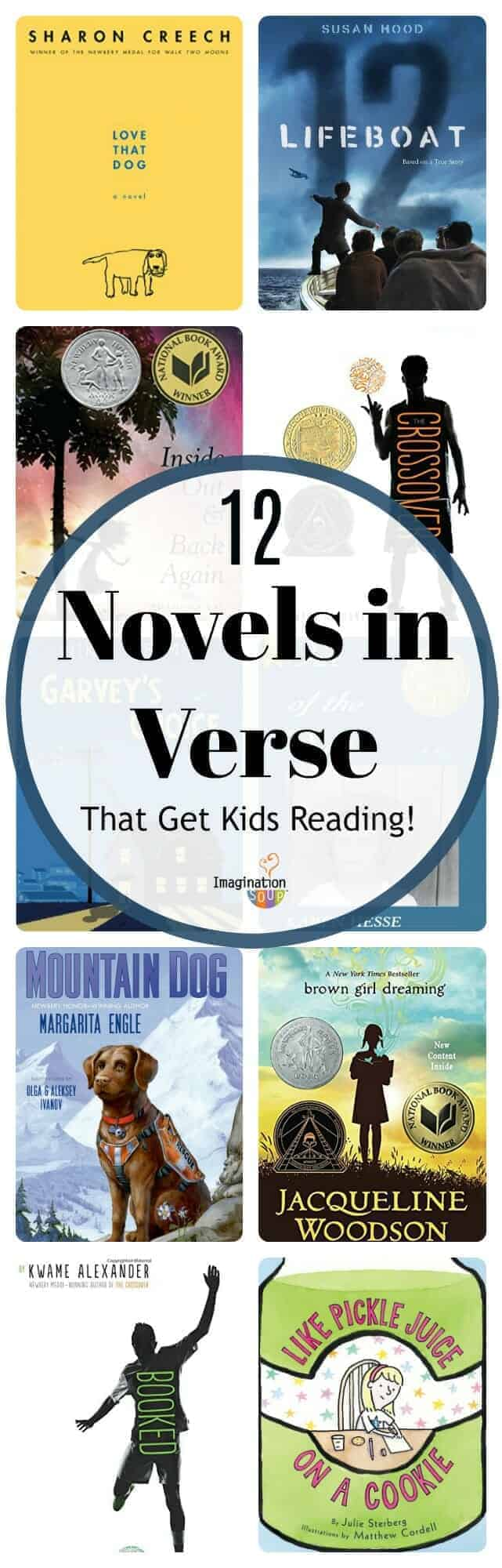 12 Novels in Verse (That Get Tween Kids Reading)