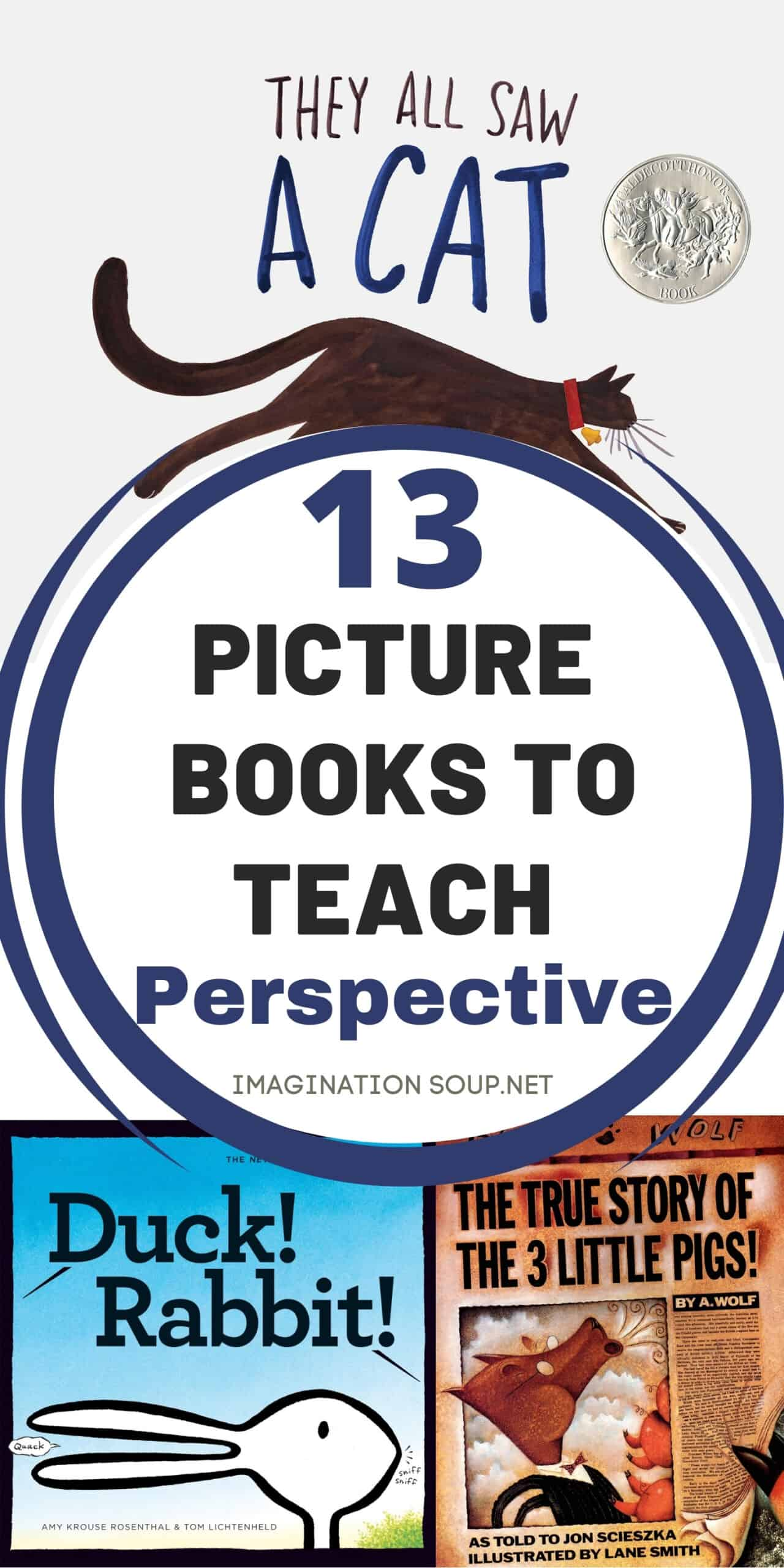13 picture books to teach perspective