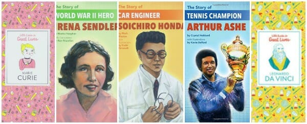 Outstanding Beginning Nonfiction Biographies for Ages 7 - 10