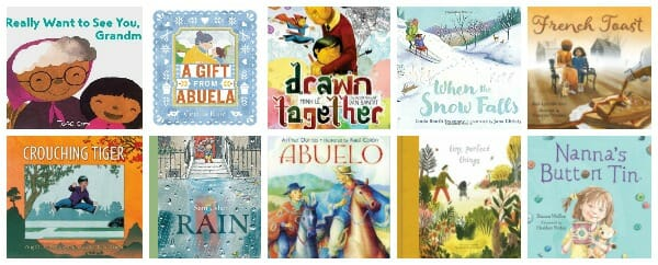 Picture Books with Stories of Loving Grandparents