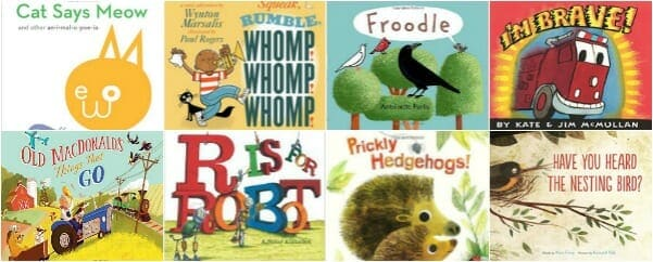 Picture Books that Teach Onomatopoeia