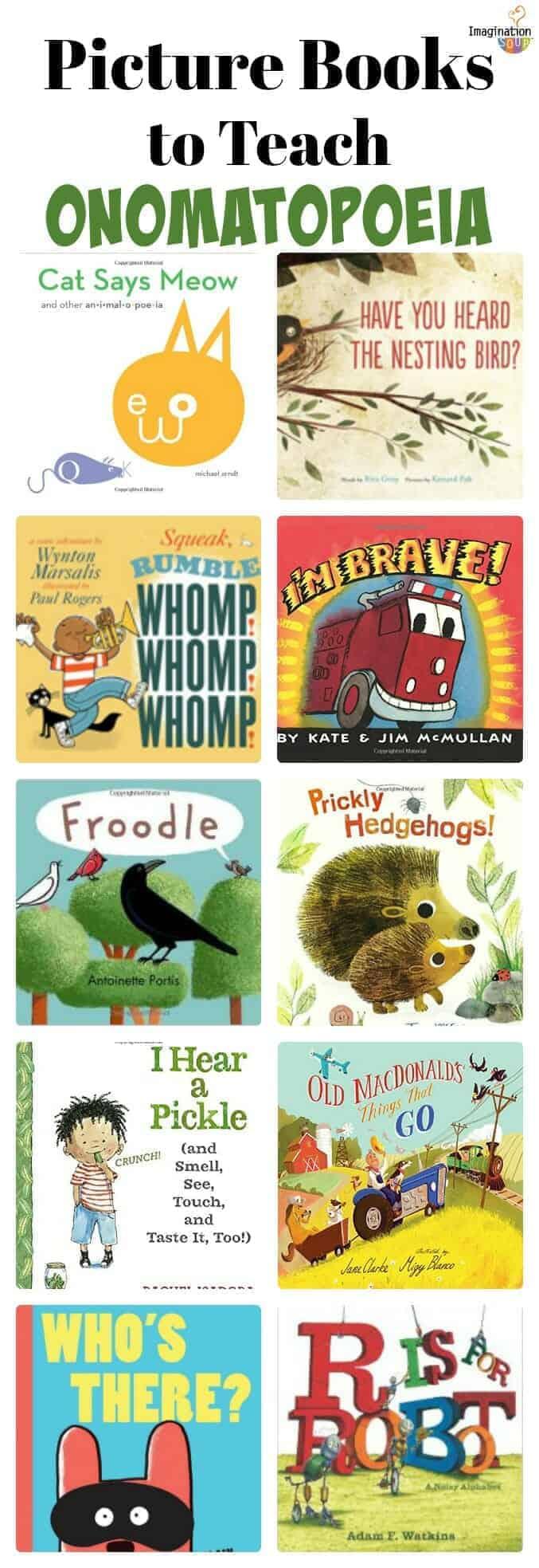 Picture Books to Teach Onomatopoeia