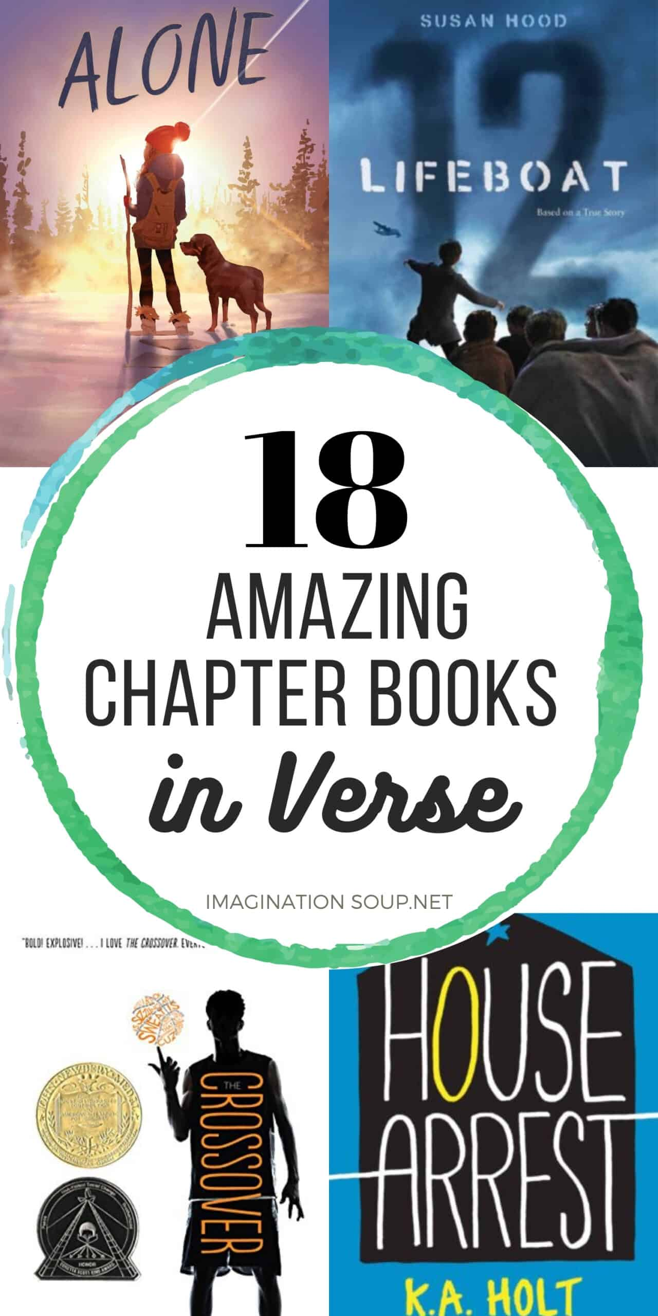best books in verse for kids ages 8 - 12