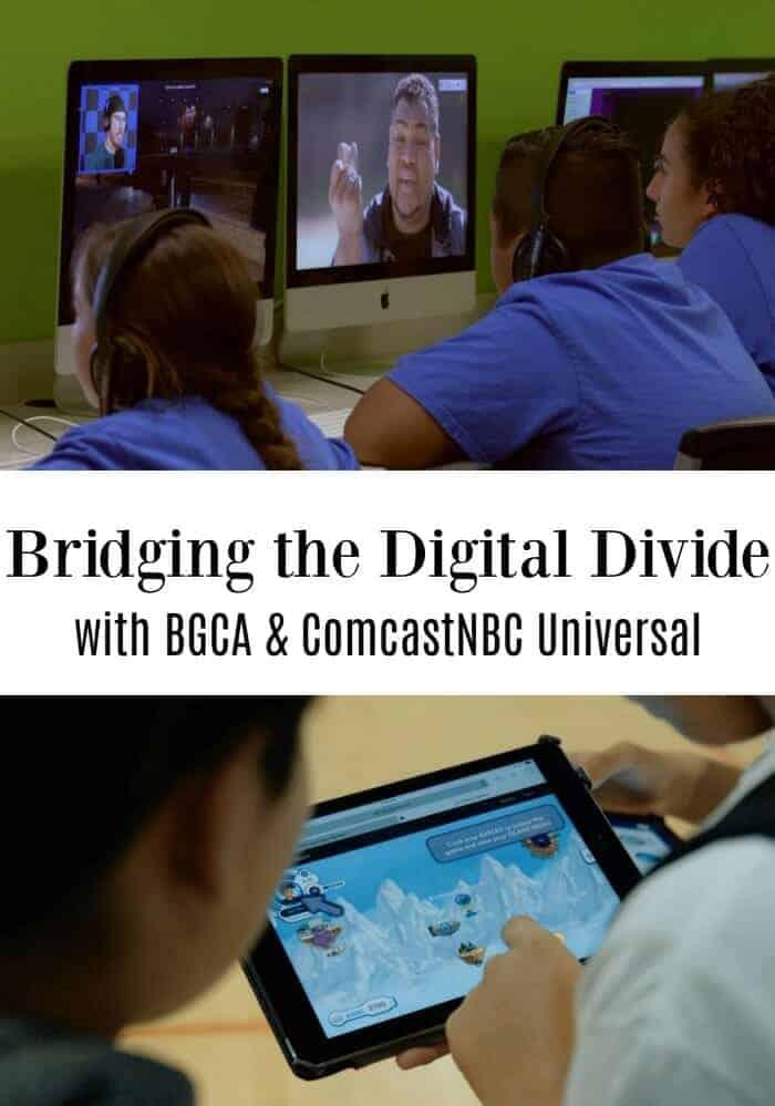 Bridging the Digital Divide: Creating an Even Playing Field in an Era of Digital Education #BGCAsummerlearning #ComcastMyFuture #digitaleducation #MyFutureplatform