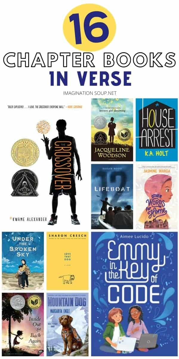 motivating chapter books in verse for elementary and middle school