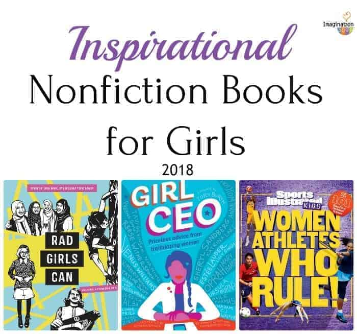 3 new inspirational girl-power nonfiction books for middle grade readers
