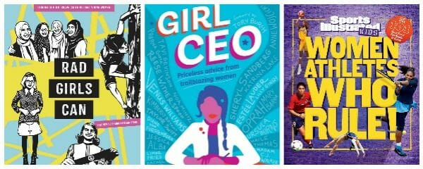 3 New Inspirational Girl-Power Middle Grade Books
