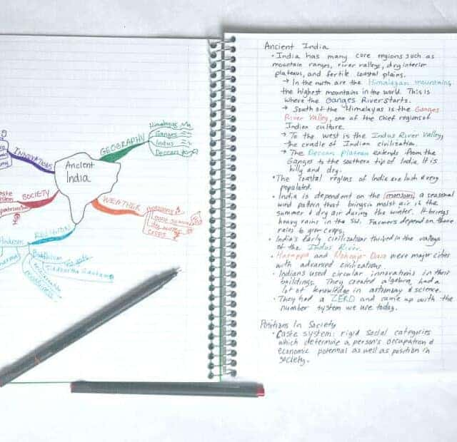 interactive notebook notetaking benefits how to materials