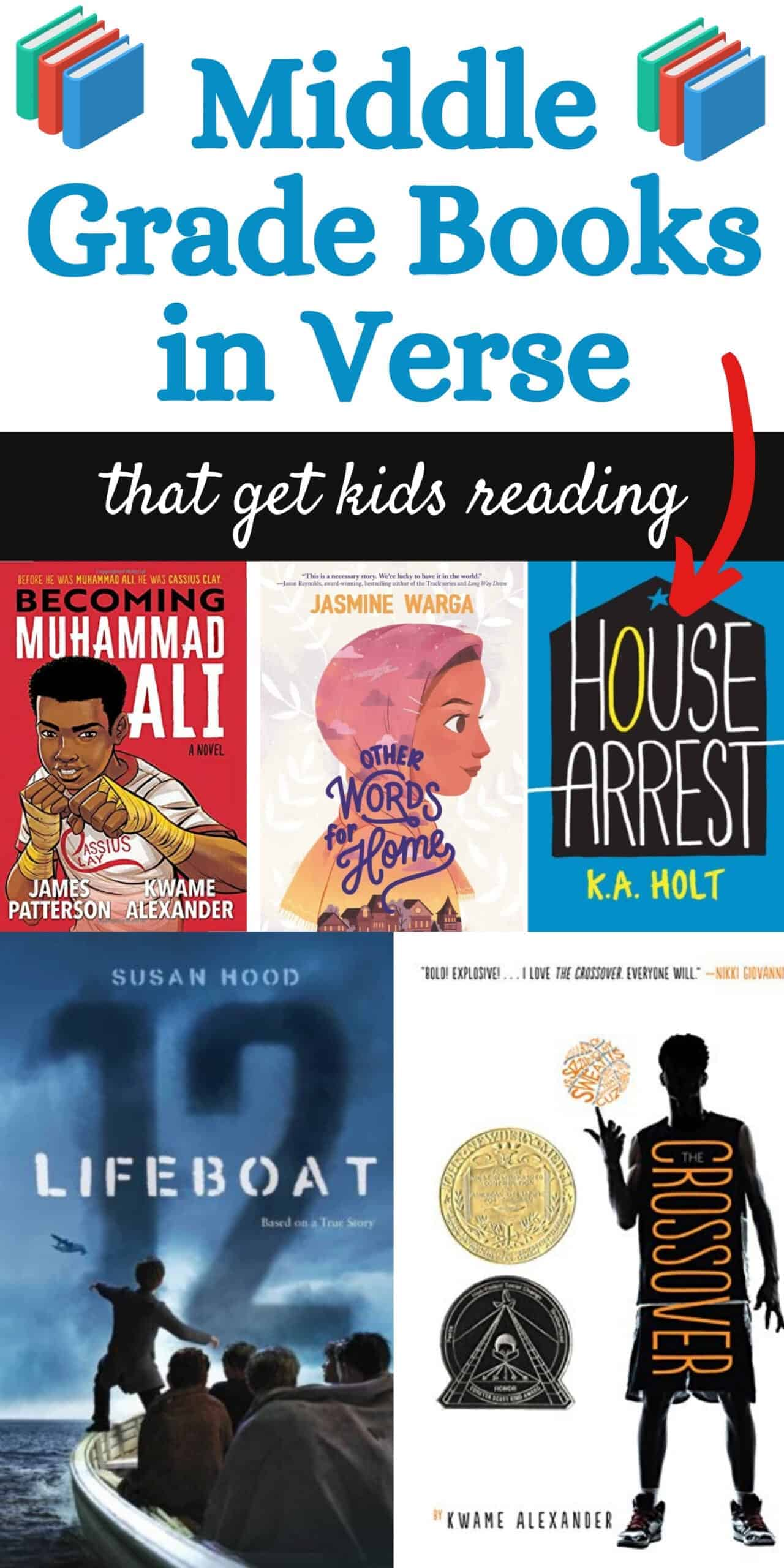 best middle grade books in verse that get kids reading