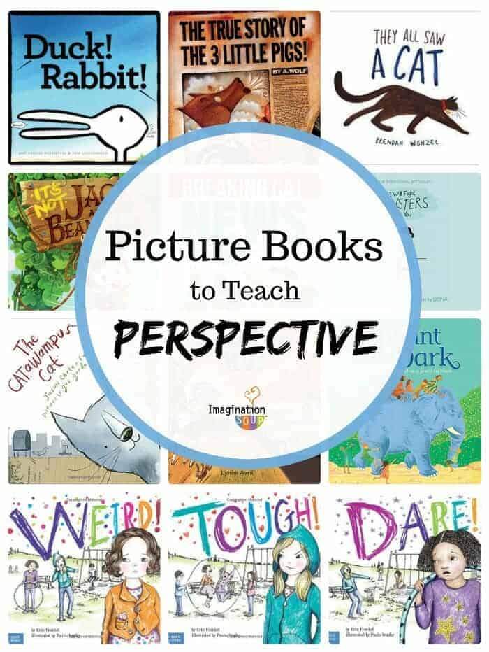 Picture Books (Mentor Texts) to Teach Perspective