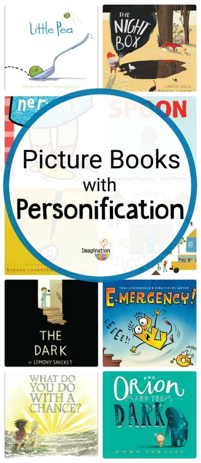 picture books with personification to use as mentor text in writing workshop