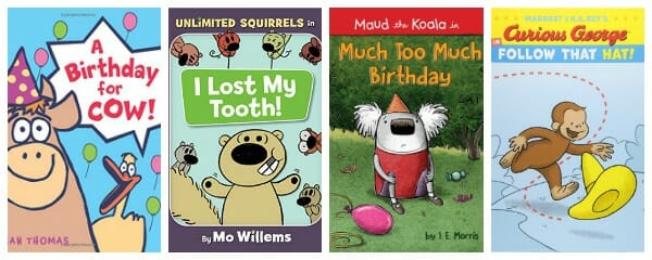 2018 easy readers recommended for kids