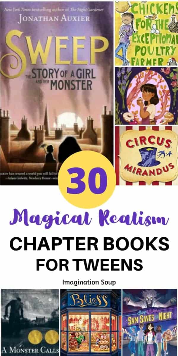 30 magical realism books for tweens