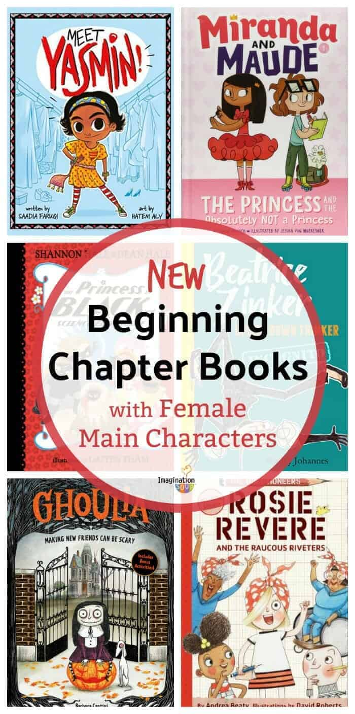 6 New Beginning Chapter Books with Female Main Characters, Fall 2018