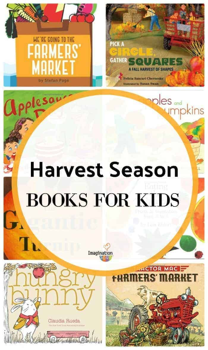 Harvest Book List for Kids #HarvestSnapsLove