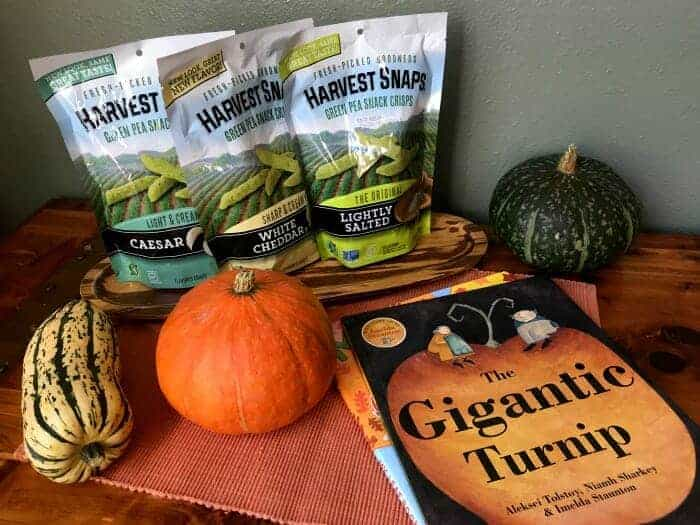 Healthy Harvest Snack Food & Book List for Kids
