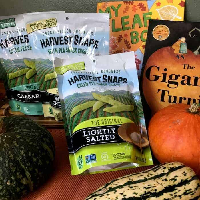 Healthy Harvest Snack Food & Book List for Kids