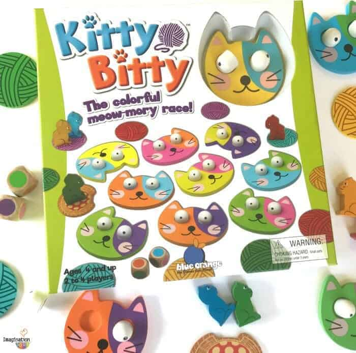 Adorable Kitty Bitty Memory Game for the Whole Family