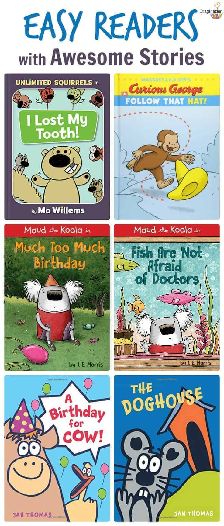 Skill-Building Easy Readers with Excellent Stories