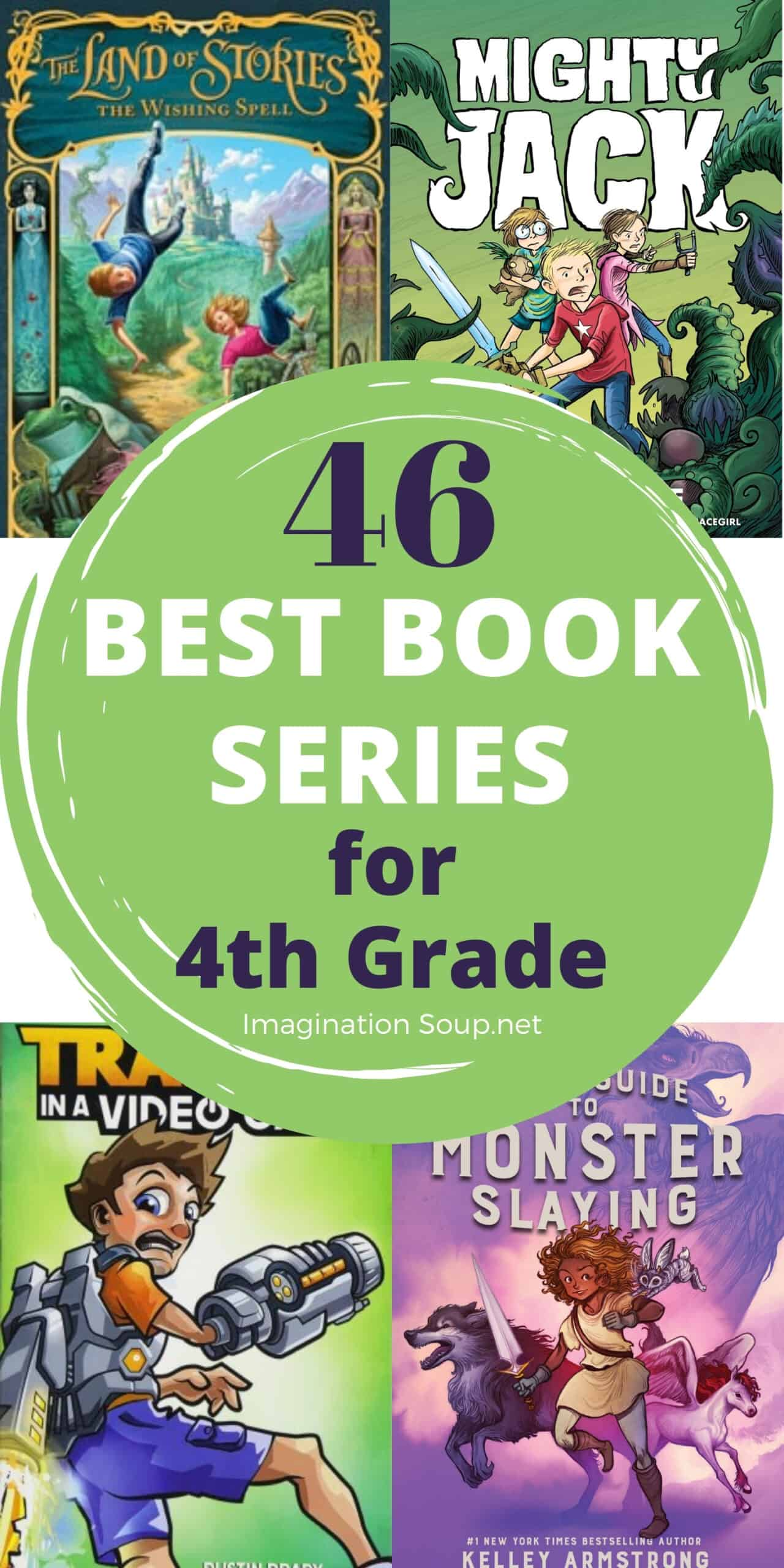 best book series for 4th grade