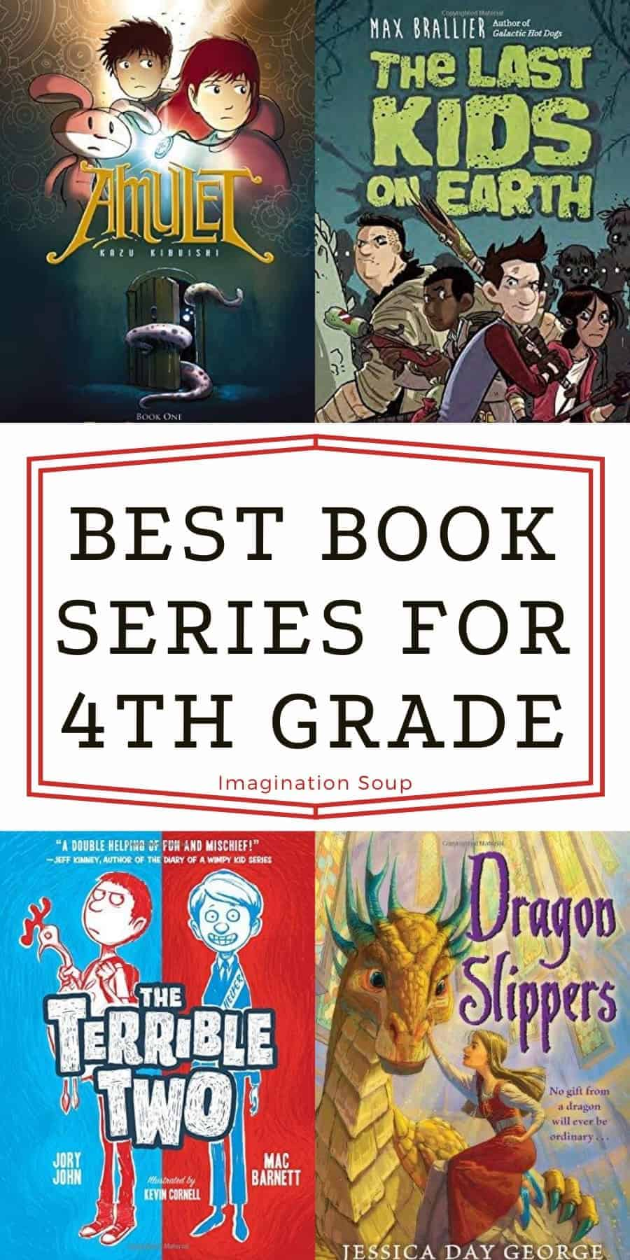 best book series for 4th grade (age 9 and 10)