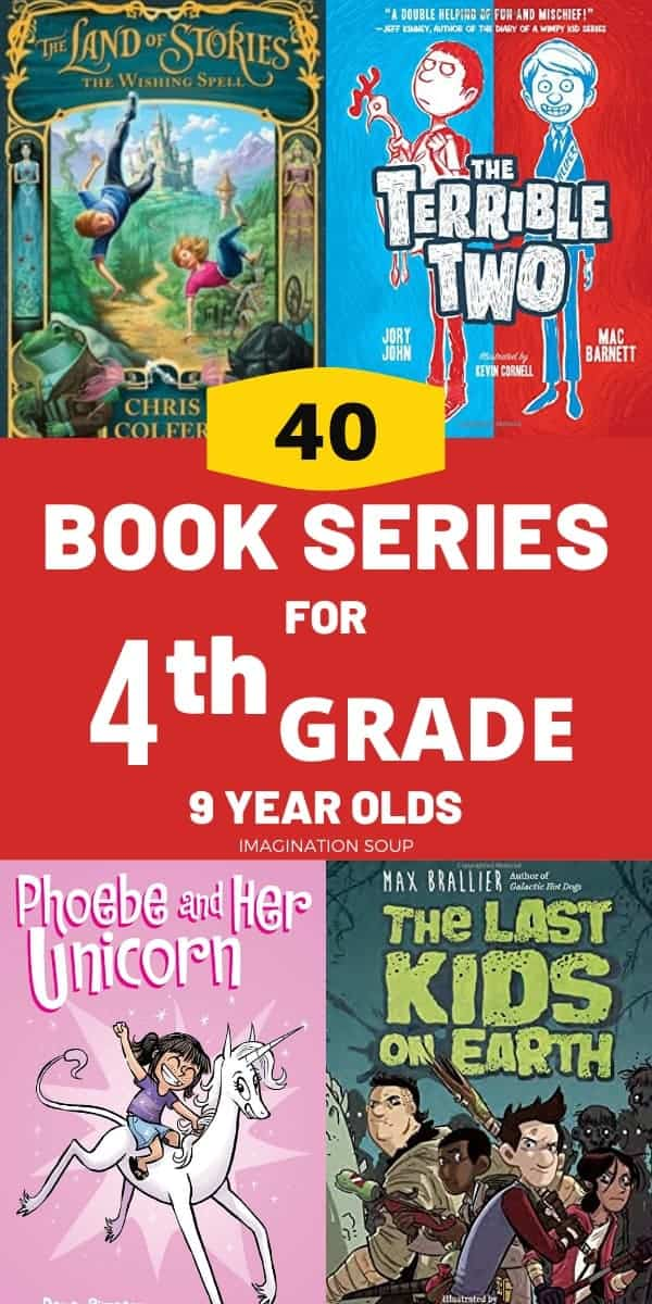 best chapter book series for 4th grade boys and girls (9 years old)
