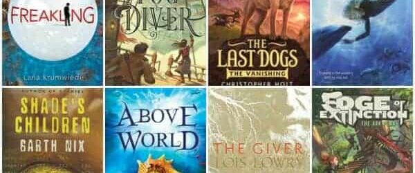 The Best Dystopian Chapter Books for Middle Grade Readers (Ages 9 – 12)