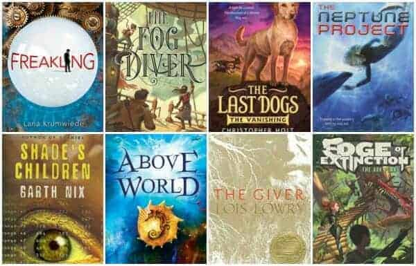 dystopian middle grade books