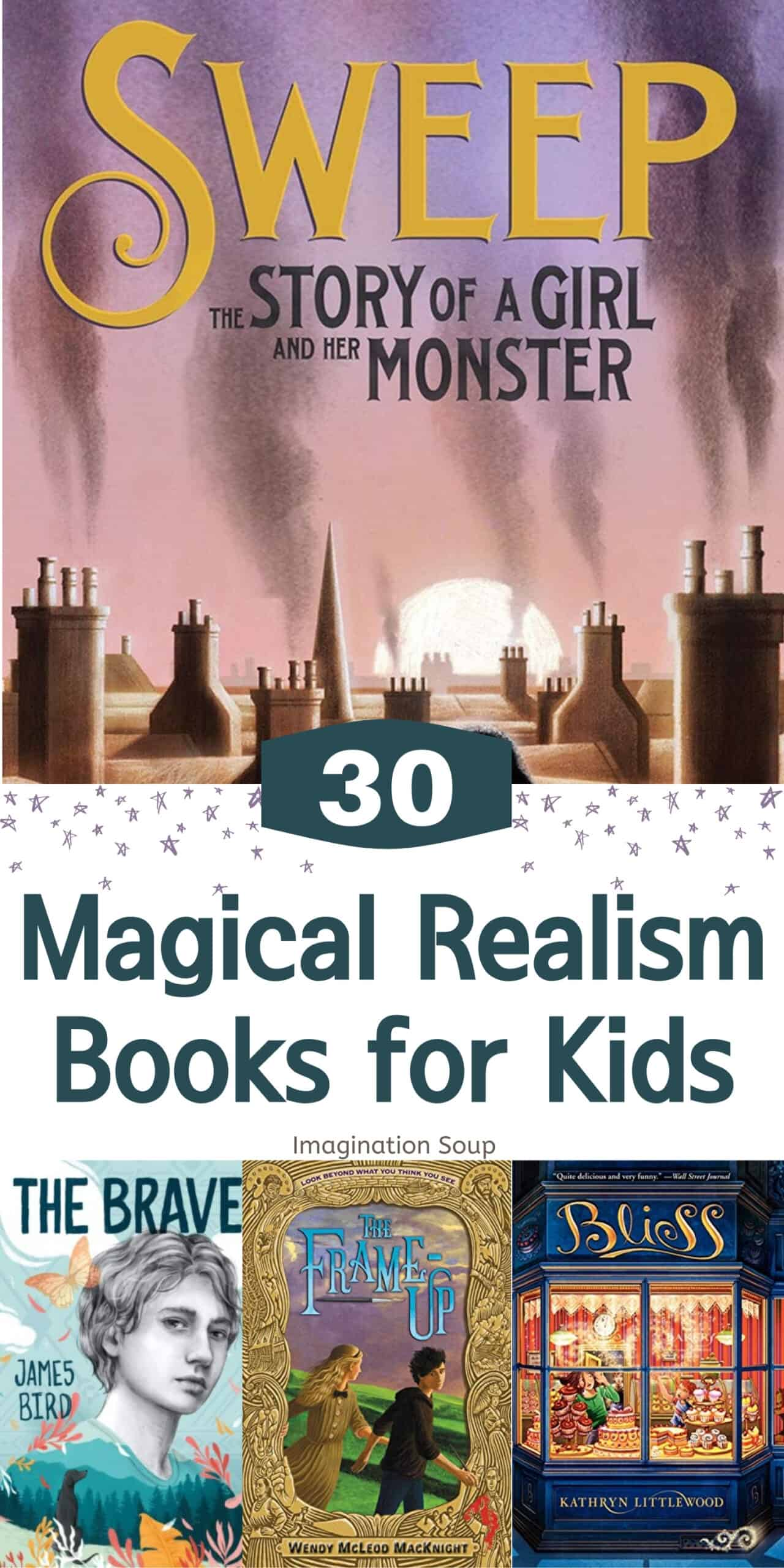magical realism chapter books for tweens