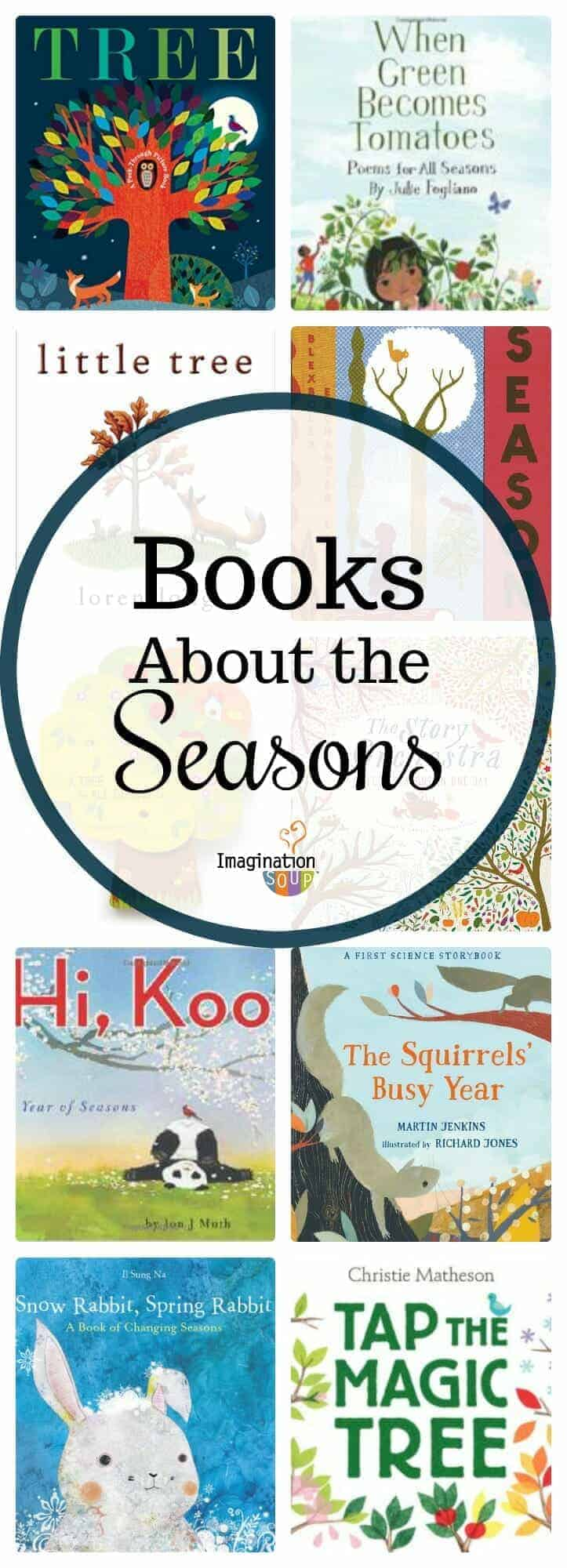 picture books that teach kids about the seasons