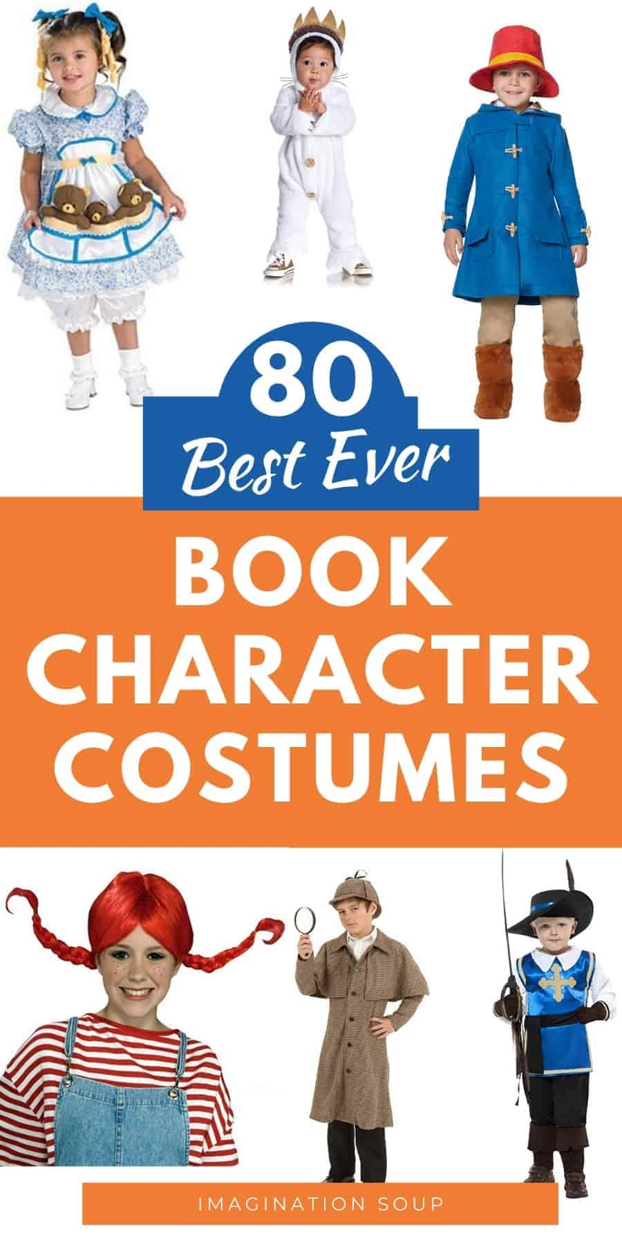80 Favorite Book Character Costumes