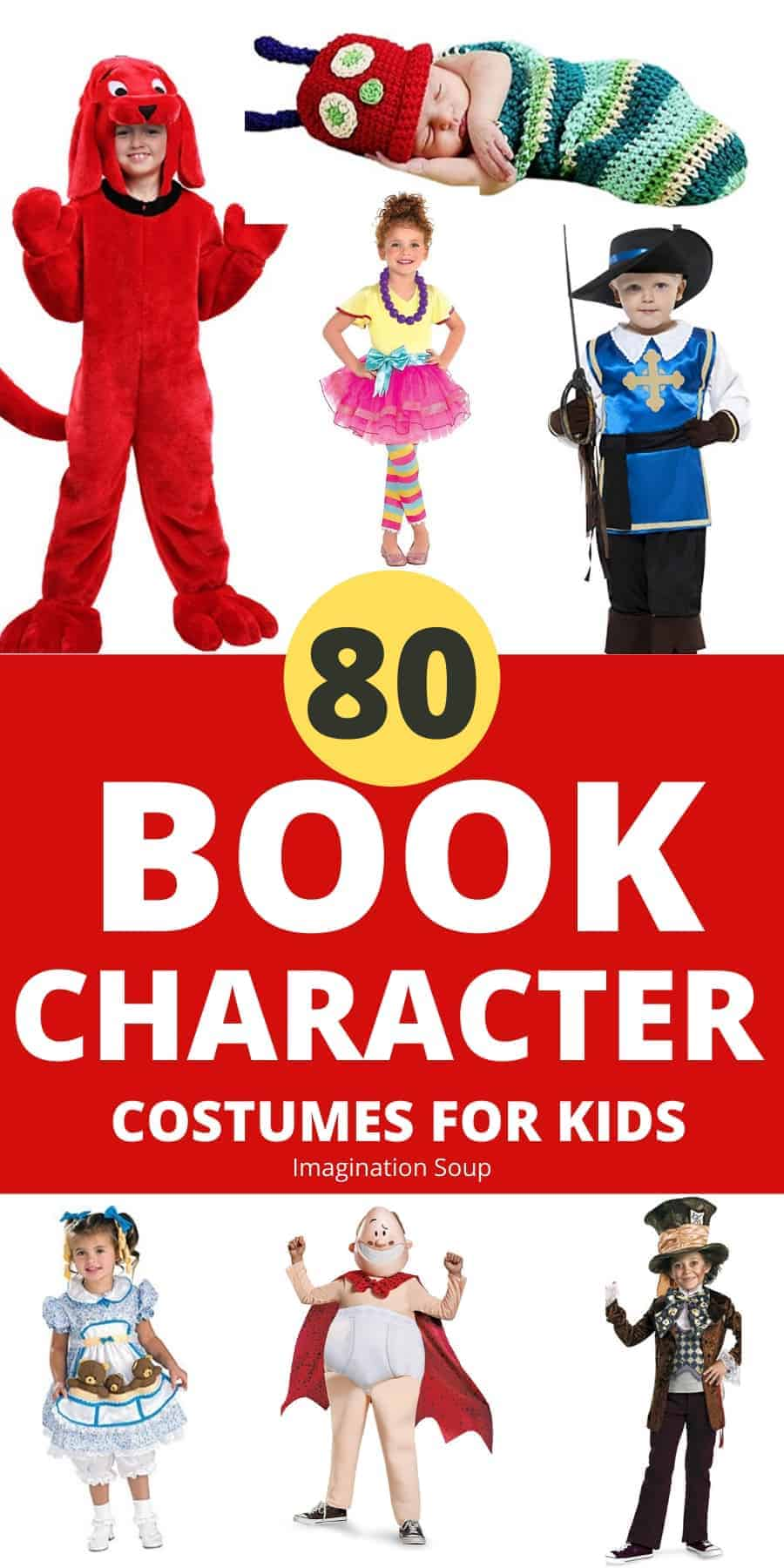 80 book character costumes for kids