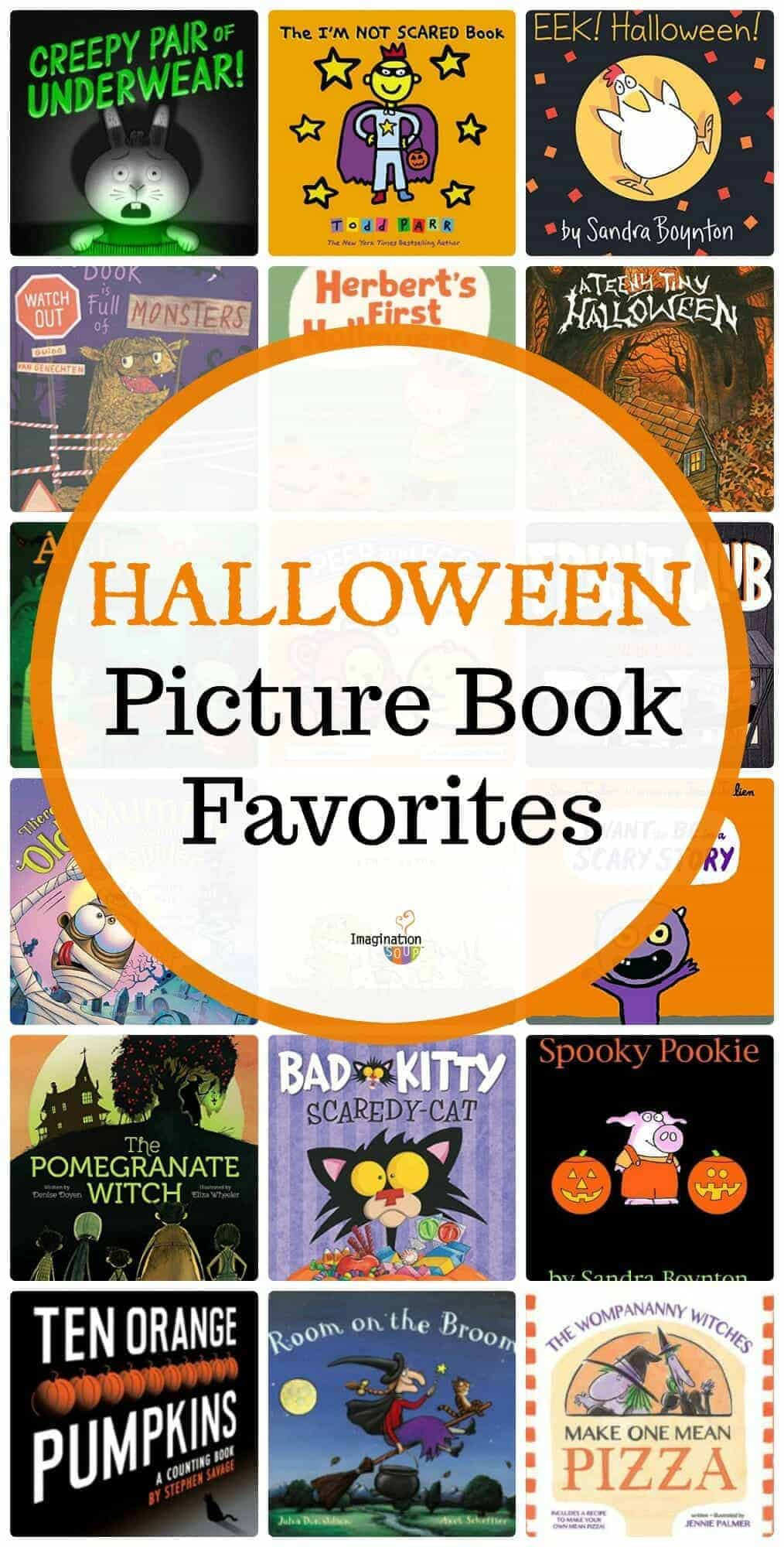 Halloween picture book favorites for kids