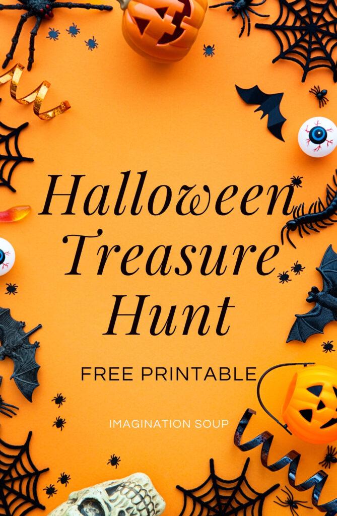 Halloween Treasure Hunt Printable