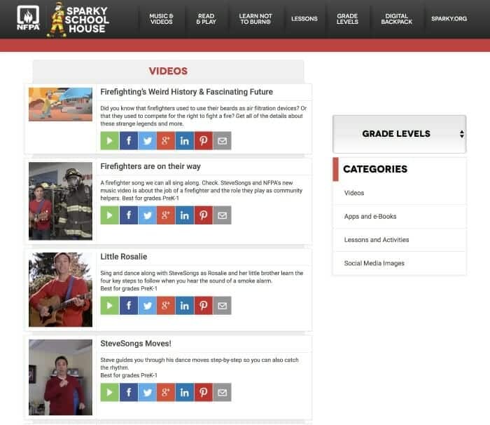 Free Resources to Teach Fire Prevention (Including a Free App)