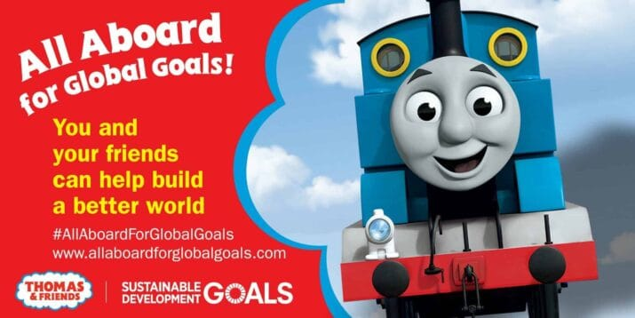 Thomas & Friends New Videos for Preschoolers About Sustainable Development Goals