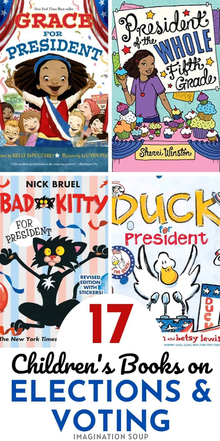 children's books about elections & voting