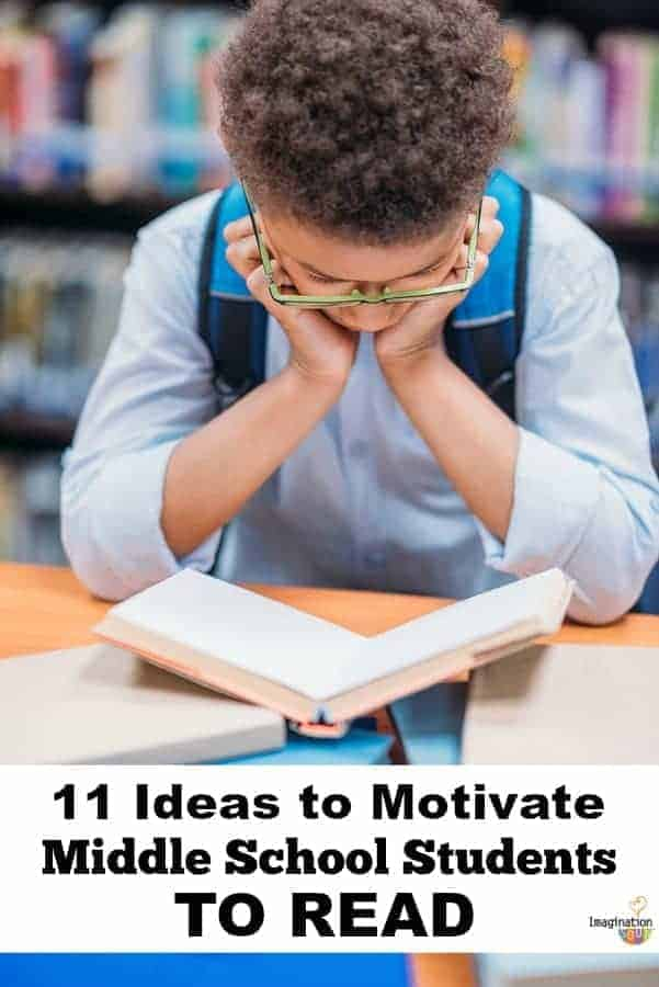 11 Ways to Motivate Middle School Students to Read